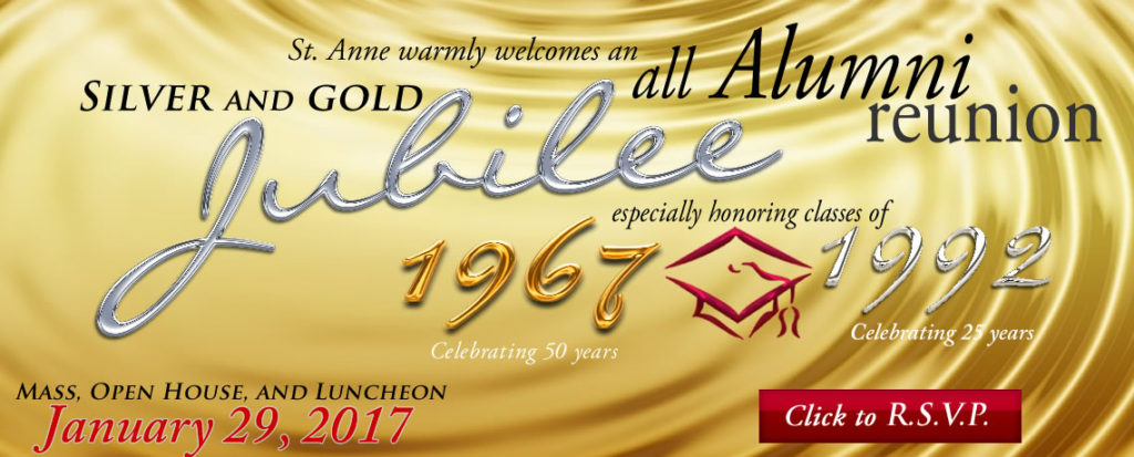 St  Anne School All Class Reunion January 29, 2017 - ST