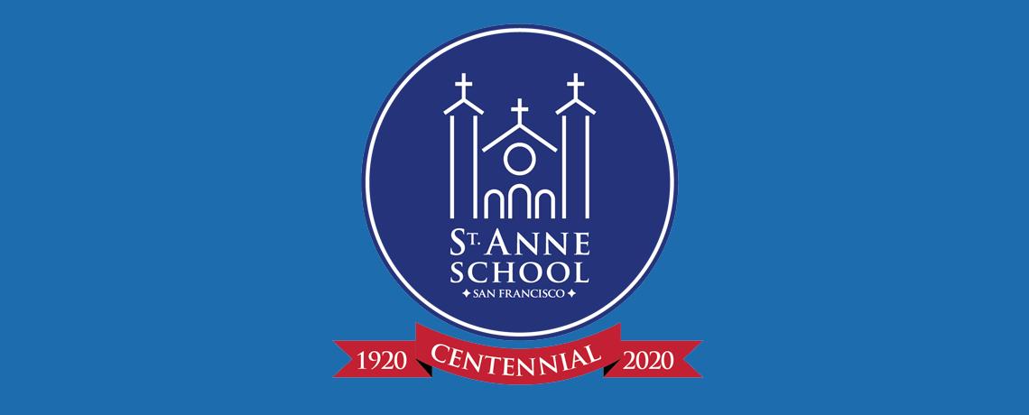 St. Anne CENTENNIAL logo